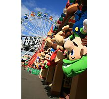 Colours of Luna Park, Sydney Photographic Print