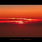 Sunrise above the Clouds by Magee