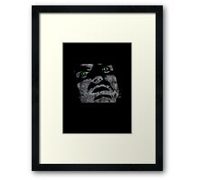 PETER STEELE - TYPE O NEGATIVE DISTRESSED Framed Print