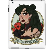 sailor pluto iPad Case/Skin