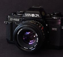 Classic 35mm Film Camera by wayneyoungphoto