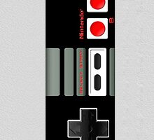 Vintage Classic Retro Game controller by Johnny Sunardi