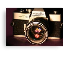 Classic 1960's 35mm SLR Camera Canvas Print