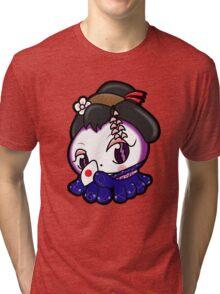 Geisha Tako-Chan Tri-blend T-Shirt