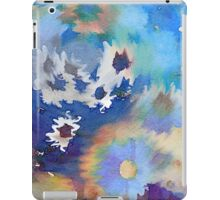 Welcome Spring Abstract Floral Digital Watercolor Painting 2 iPad Case/Skin
