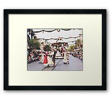 A Christmas Fantasy Parade  Framed Print