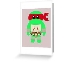 Kid Raph Greeting Card