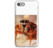 Close-Up Spooky Spider iPhone Case/Skin