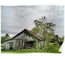 Old Barns Series #2 Poster