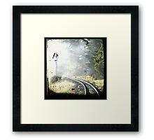Travelling Back Framed Print