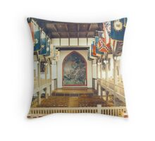 God & Country Throw Pillow