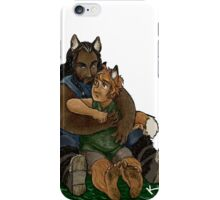 Fox and Wolf iPhone Case/Skin
