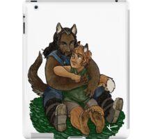 Fox and Wolf iPad Case/Skin