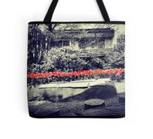 Kiss me with those luscious red lips Tote Bag