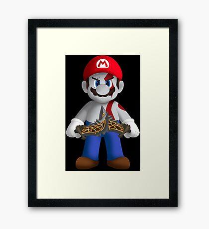 God of Mushroom Kingdom Framed Print