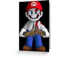 God of Mushroom Kingdom Greeting Card