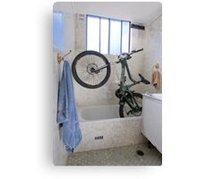 Bicycle Parking 3 Canvas Print