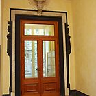 Doors with slave silhouettes - Genoa, Italy by Marylamb