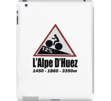 Tour de France Cycling Alpe d'Huez Shirt iPad Case/Skin