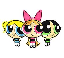 PowerPuff Photographic Print