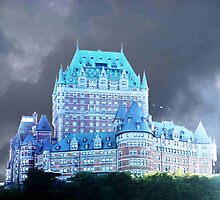 Hotel in Canada FAIRMONT LE CHâTEAU FRONTENAC by KellyGirl