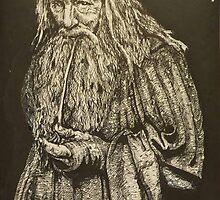 Gandalf the grey by la5me