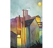 Rear Window Watercolor Photographic Print
