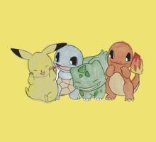 Hand Painted Pokemon Kids Clothes