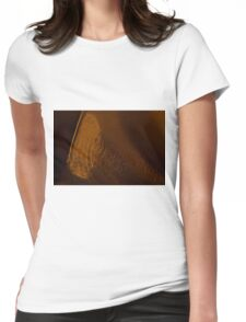 Sliced Womens Fitted T-Shirt