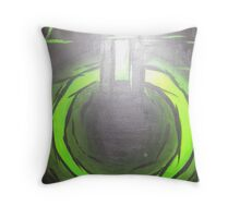 PoweR PaintinG Throw Pillow