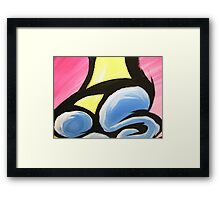 WHAT IS ART close up Framed Print