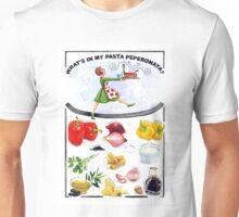WHAT'S IN MY PASTA PEPERONATA? Unisex T-Shirt