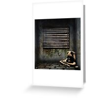 One Mans Solitude Greeting Card