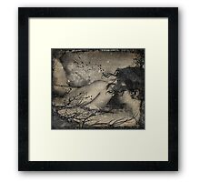 Abstract Transitions Panel 4 Framed Print