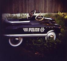 Police Car by Miyuki Mardon