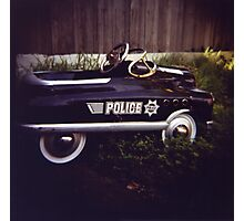 Police Car Photographic Print