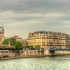 Island In The Seine .. A Dedication To Sharon by Michael Matthews