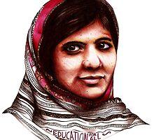 Malala by EvaHolder