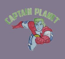 Captain Planet  Kids Tee