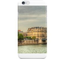 Island In The Seine .. A Dedication To Sharon iPhone Case/Skin