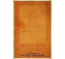 The Big Lebowski Minimal Poster Photographic Print