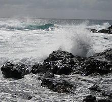 Lanzarote Beach by Laura Hopkin