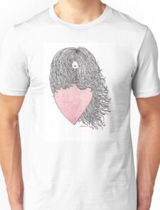 Hair and heart Unisex T-Shirt