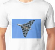 Avro Vulcan B.2 XH558 G-VLCN Unisex T-Shirt