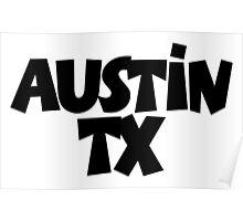 Austin TX Texas Poster