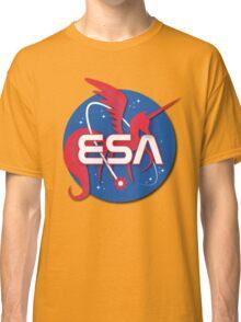 ESA - Equestrian Space Administration (NASA) Classic T-Shirt