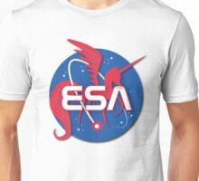 ESA - Equestrian Space Administration (NASA) Unisex T-Shirt