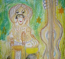 Music Gnome by mitchflowerart