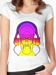 Robot DJ Women's Fitted Scoop T-Shirt