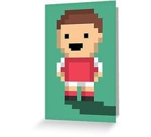 Tiny Goalie - Red Greeting Card
